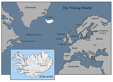 Viking World Map
